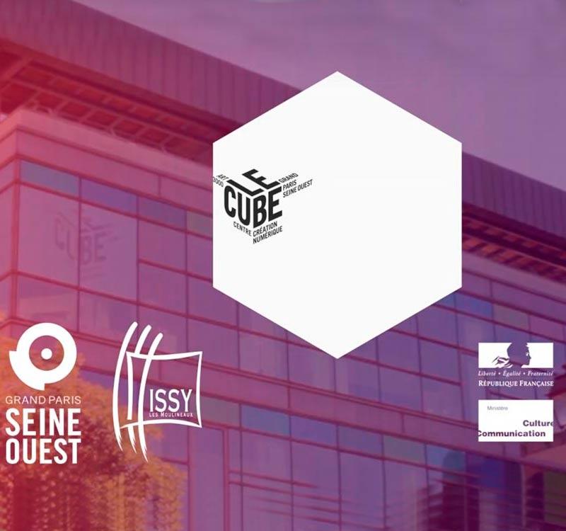 Le site du Cube | UI et frontend