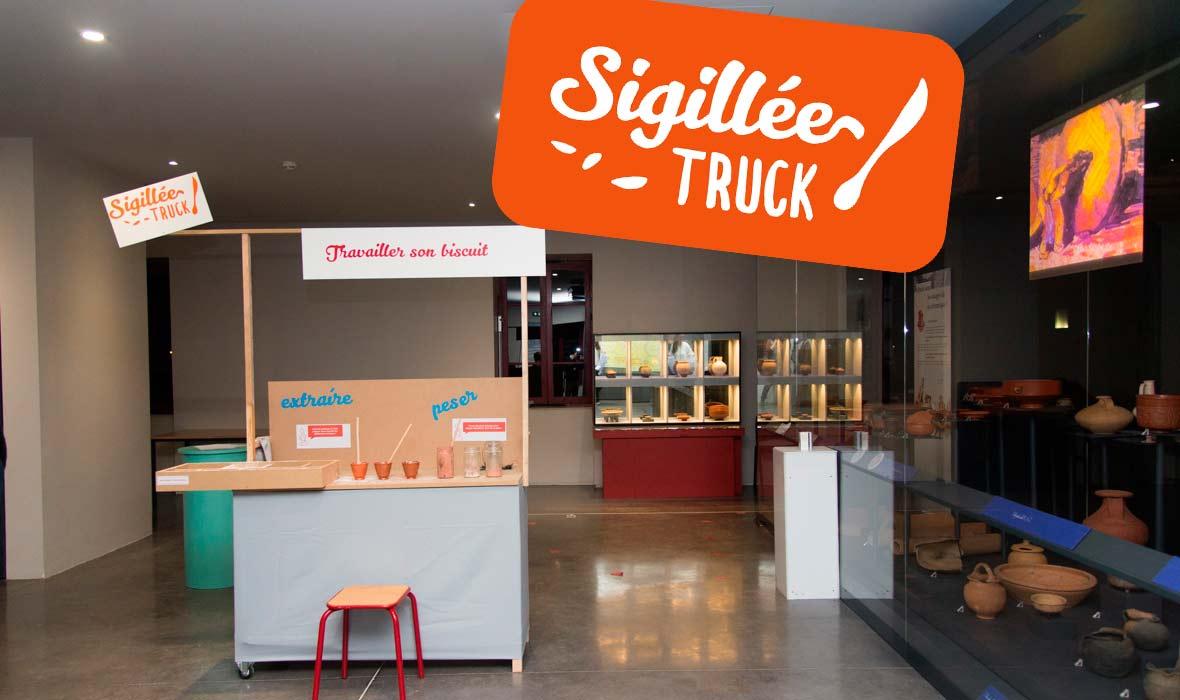 Muséomix 2016 : projet Sigillé truck