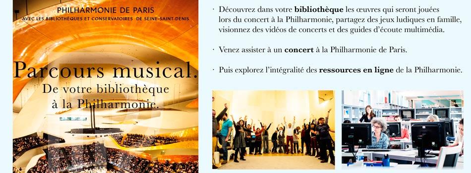 Des parcours musicaux et numériques pour développer l'usage des ressources en ligne