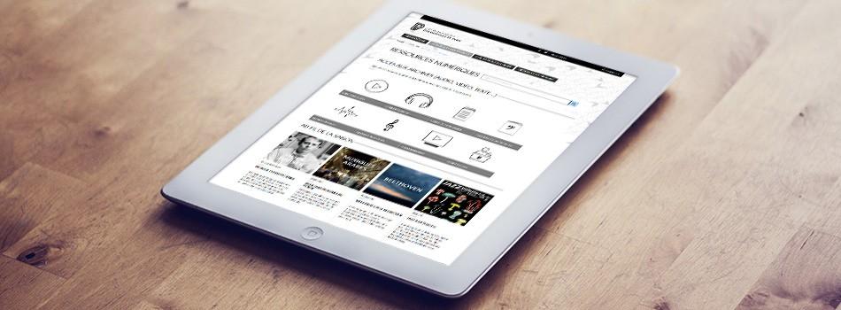 Les ressources numériques de la Philharmonie