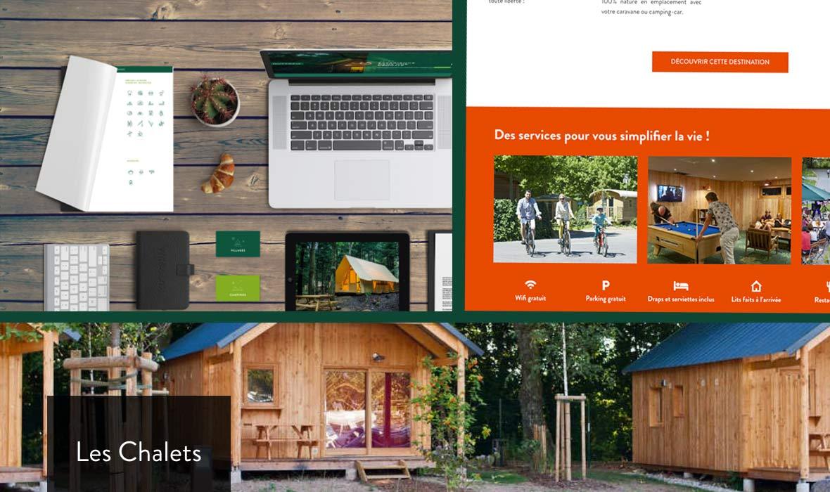 Huttopia - stratégie et communication web sur une nouvelle gamme de camping